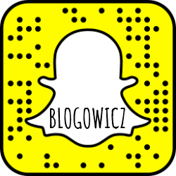 snapchat blogowicz